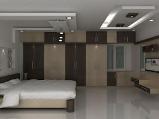 Wardrobes: modern  by Splendid Interior & Designers Pvt.Ltd ,Modern