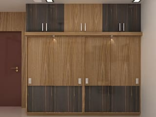 Wardrobes:   by Splendid Interior & Designers Pvt.Ltd