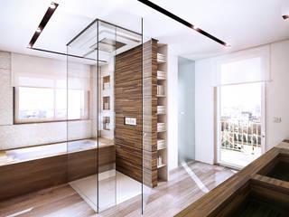Baños de estilo  por StudioArchPellicano