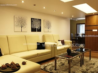 Interiors Modern living room by 3DBricks Modern