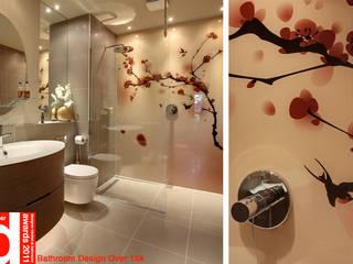 Japanese inspired luxury bathroom Design Republic Limited 浴室 Pink