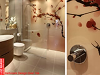 Japanese inspired luxury bathroom Asian style bathroom by Design Republic Limited Asian