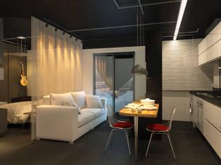 modern  by Eduardo Novaes Arquitetura e Urbanismo Ltda., Modern