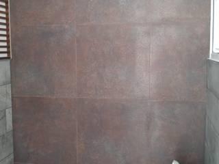 Hogar y Cerámica S.A. de C.V. Modern Bathroom Ceramic Metallic/Silver
