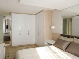 Modern style bedroom by Luciana Ribeiro Arquitetura Modern