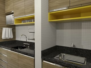 Кухни в . Автор – Luciana Ribeiro Arquitetura