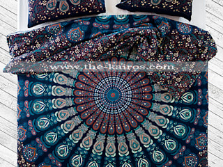 THE KAIROS – Vayu Mandala Duvet Cover:  tarz