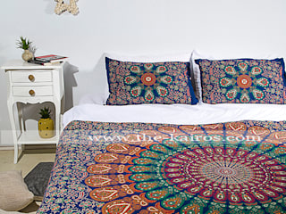 THE KAIROS – Sita Twin Size Bedspread/Throw/Tapestry:  tarz