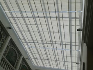 Palilleria ZEN cobertura DOMO (Motorizado o Manual): Centros Comerciales de estilo  por HLA181026V73