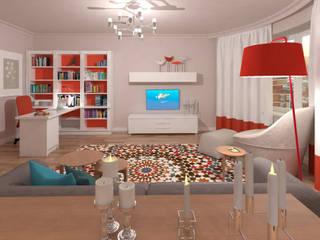 Living room by Надежда Каппер, Scandinavian