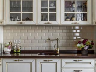 Квартира-путешествие. Fusion Design Кухня в классическом стиле