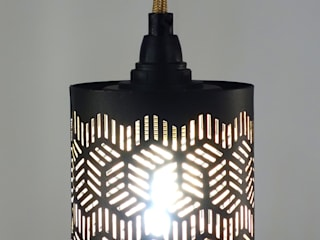 Meister Lampe BedroomLighting Wood Multicolored