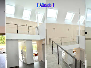 Modern Corridor, Hallway and Staircase by [ADitude*] Architecture Modern