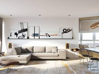 Livings de estilo minimalista de homify Minimalista
