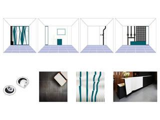 Zetland House Reception Estudios y despachos modernos de Simone de Gale Architects Moderno