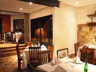 Gastronomía de estilo rústico de Elisa Vasconcelos Arquitetura Interiores Rústico