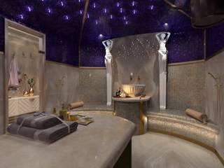 ХАМАМ В ПЕНТХАУСЕ Спа в классическом стиле от Katerina Butenko Классический