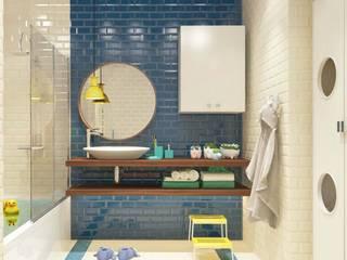 Baños de estilo  de Katerina Butenko, Minimalista