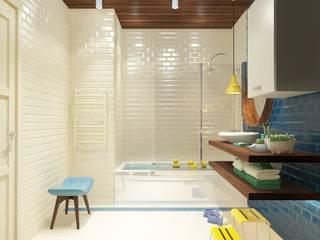 Casas de banho  por Katerina Butenko, Minimalista
