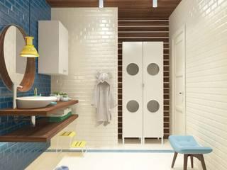 ДЕТСКИЕ САНУЗЛЫ. ПЕНТХАУС Ванная комната в стиле минимализм от Katerina Butenko Минимализм