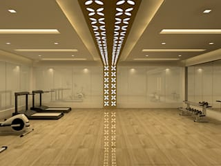 Gym by De Panache  - Interior Architects