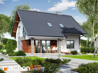 Projekt domu ARCHON+ Dom w malinówkach od ARCHON+ PROJEKTY DOMÓW