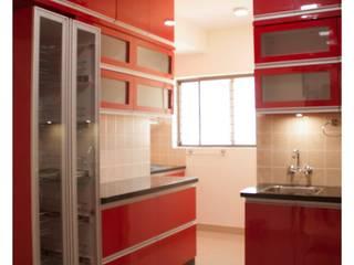 Mr.Sunder Raj Modern kitchen by IN-CUBE STUDIO Modern