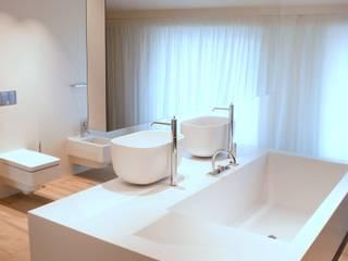 Nowoczesna łazienka z wyposażeniem od Luxum Nowoczesna łazienka od Luxum Nowoczesny