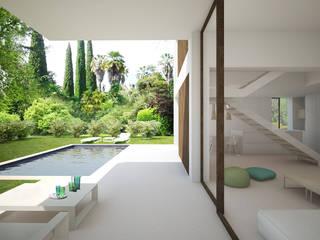 Villas Lucía Denia: Terrazas de estilo  de Nuam