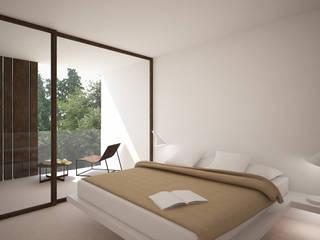 Villas Lucía Denia: Dormitorios de estilo  de Nuam