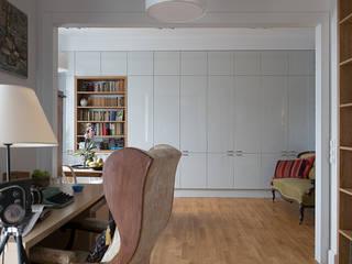 Jacek Tryc-wnętrza Classic style living room White