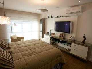 Patrícia Azoni Arquitetura + Arte & Design Modern style bedroom