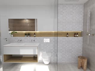 Scandinavian style bathroom by Ektor studio Scandinavian