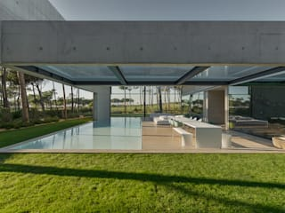 guedes cruz arquitectos minimalist style balcony, porch & terrace