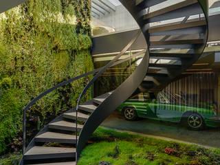 Hành lang, sảnh & cầu thang phong cách tối giản bởi guedes cruz arquitectos Tối giản