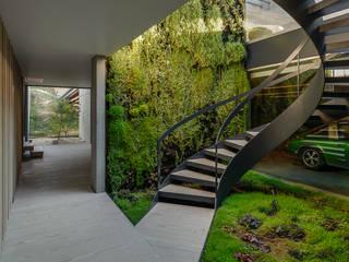 Pasillos, halls y escaleras minimalistas de guedes cruz arquitectos Minimalista