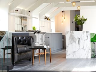 The Marble Kitchen Papilio Modern kitchen