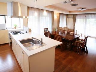 リフォーム 1 モダンな キッチン の 吉田設計+アトリエアジュール モダン