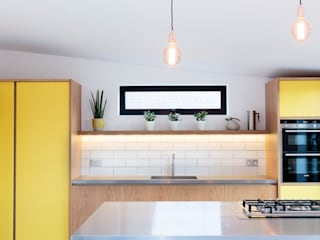 The Scandinavian Kitchen Papilio Scandinavian style kitchen Yellow