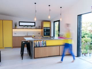 The Scandinavian Kitchen Papilio Cocinas escandinavas Amarillo
