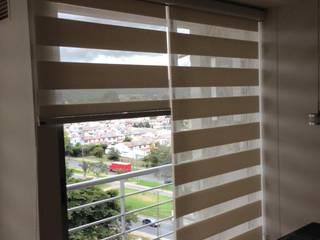 proyecto cortinas tipo sheer elegance white de LA CORTINERIA Moderno