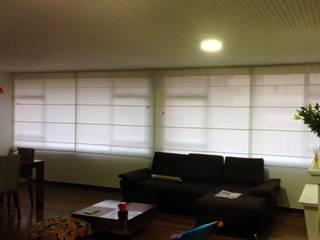 cortinas romanas tela de LA CORTINERIA