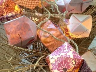 Guirlande lumineuse Origami par La Papelista Classique