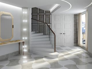 Corredores, halls e escadas modernos por Design studio of Stanislav Orekhov. ARCHITECTURE / INTERIOR DESIGN / VISUALIZATION. Moderno