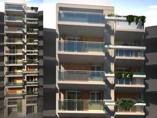 Edificio Sustenta: Edificios de Oficinas de estilo  por Estudio Feldman - Arquitectura Sustentable