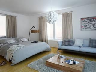 Kamar Tidur Gaya Mediteran Oleh 3DYpslon Mediteran