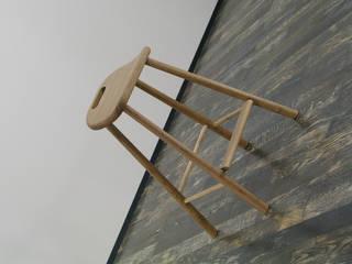 スツール: 家具木工 みずき工房が手掛けた折衷的なです。,オリジナル