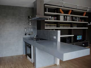 Eclectic style kitchen by Alessandro Jurcovich Architetto Eclectic