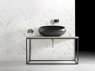 ELEGANT BATHROOMS Minimalist style bathroom by Kreoo Minimalist