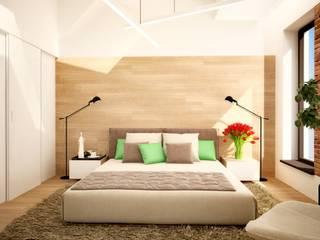 Лофт С Антресолью Спальня в эклектичном стиле от ООО 'Студио-ТА' Эклектичный
